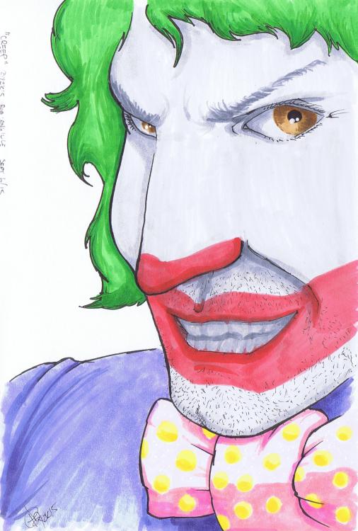 """Creep"" Sketchbook 001 - Pencil and Ink September 6, 2015 ©2015 Rob Langille"