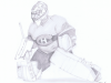 """Carey Price"" Pencil September 2015 ©2015 Rob Langille Art"