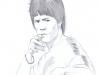 """Bruce"" Pencil 2011 ©2015 Rob Langille"